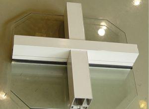 mur rideau en verre en aluminium de niveau lev mur rideau en verre en aluminium de niveau. Black Bedroom Furniture Sets. Home Design Ideas