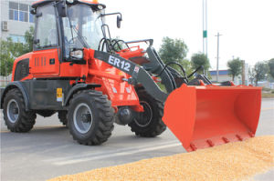 Everun Lader van het Landbouwbedrijf van 1.2 Ton de Mini met Multifunctionele Hulpmiddelen