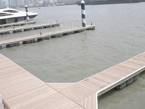 wharf parquet madera compuesto plstico muelle terrazas wpc madera shipside suelo plataforma hdh