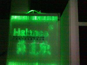 Gordijn van de Verlichting van de vezel het Optische voor de Decoratie van de Voordeur van het Bedrijf