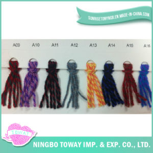 Echarpe Artisanat multicolore Knitting Chunky Blend Laine Fils acryliques