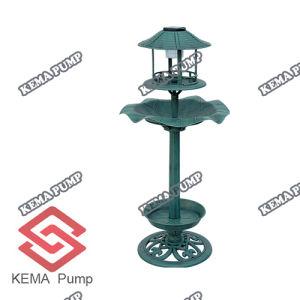Lampの太陽Resin Birdbath/Resin Bird Feeder