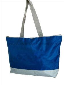 Saco de Tote de nylon relativo à promoção do saco de compra