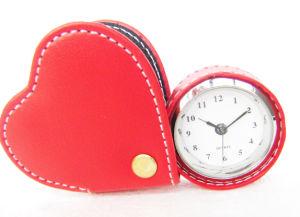 Alloy Carriage Alarm Clock
