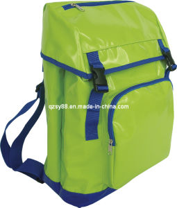 Deporte al aire libre Moda impermeable lona mochila bolsa