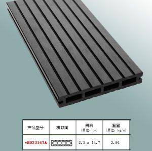 Outdoor Waterproof Wooden Plastic Composite Decking / WPC Outdoor Decking (HO023147)