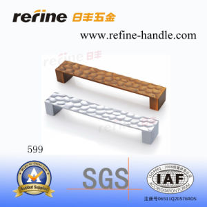 Poignée en alliage de zinc de traction de matériel de Cabinet (Z-599)