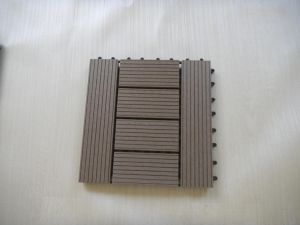 Telha do Decking da plataforma Tiles/DIY WPC de DIY (450*450mm)