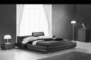 2016 bâtis en cuir adultes de chambre à coucher élégante ...