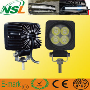 12W 750lm Modulaire Heavy Duty Flood / Spot Light Offroad 4WD 4X4 Truck 12V / 24V