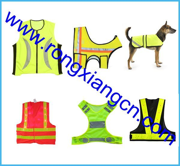 Customized Yellow Pet Security Vest