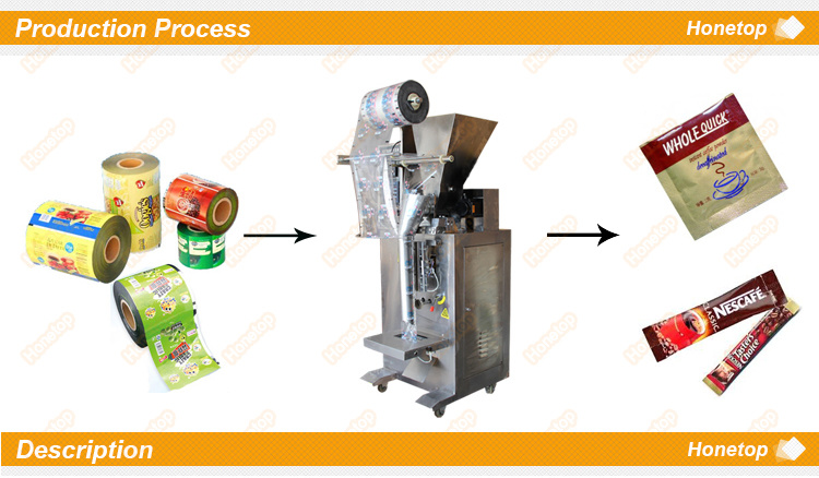 Small Sachet Packing Machine Powder