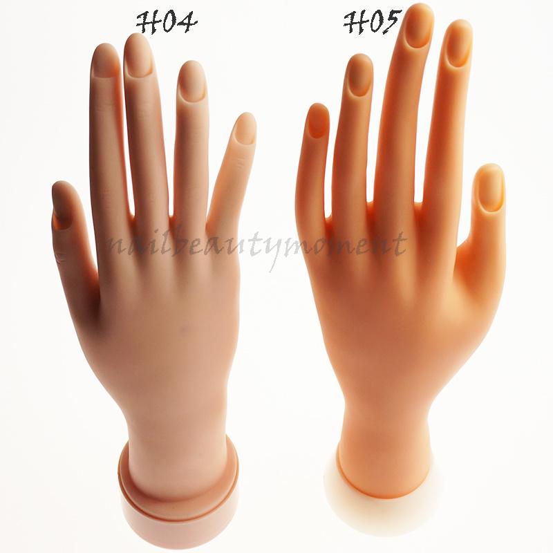 Подвижный инструментальный инструмент для визуального отображения ногтей для ногтей (H05)