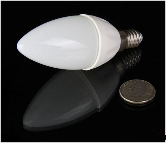New Type LED Candle Bulb (3W 5W 7W) Aluminum&Plastic