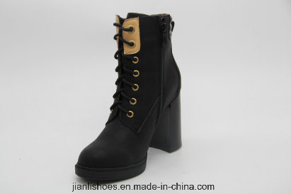 Sexy Lace-up Ankle Boots for Fashion Lady (AB630)