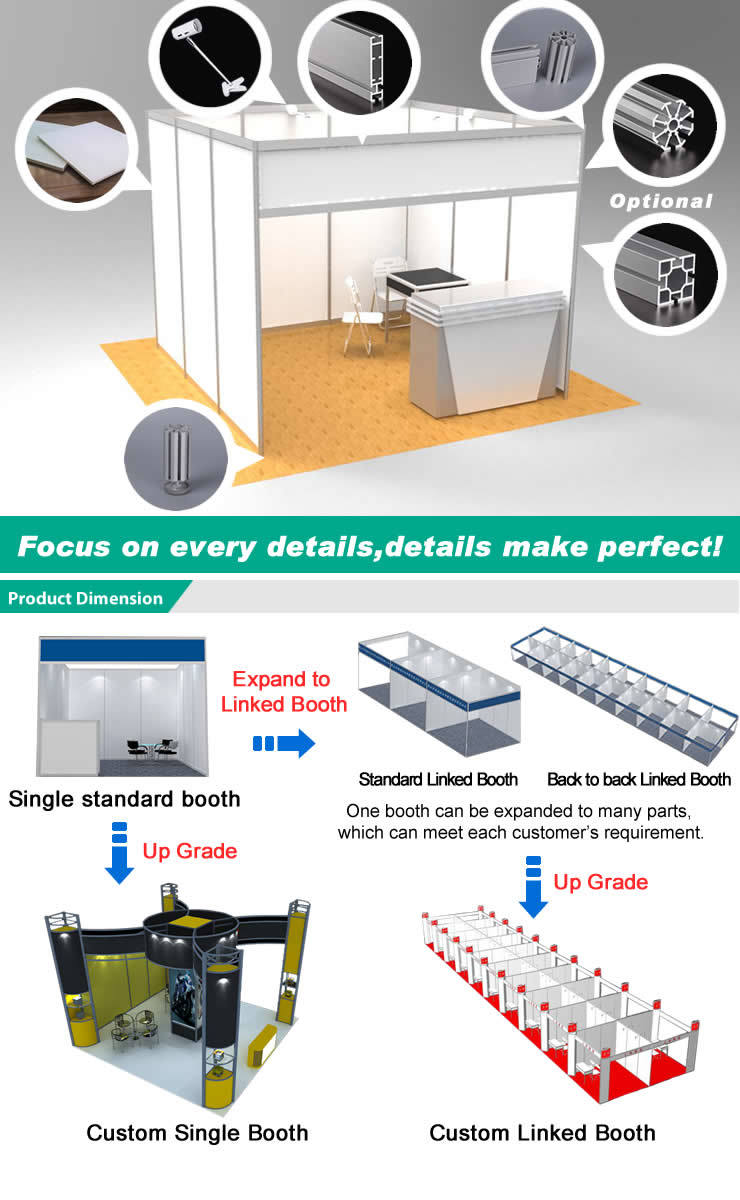 Exhibition Booth Hs Code : China modern aluminum exhibition booth system display
