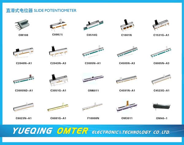 Om108 Slide Potentiometer