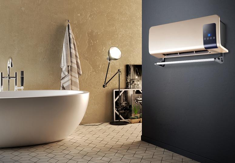 Bathroom wall fan