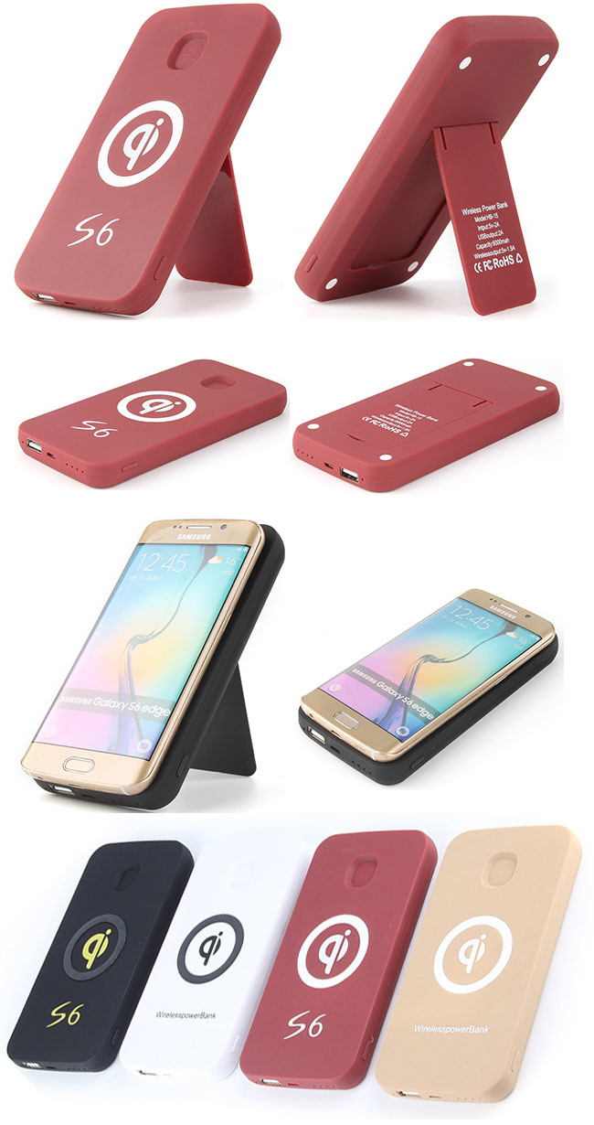 OEM/ODM Avaliable Power Bank Qi Universal Wireless Charger for Huawei/iPhone (HB-15 R)
