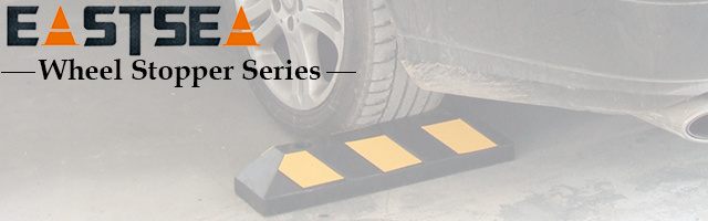China Car Park Rubber Bumpers Garage Floor Wheel Stop