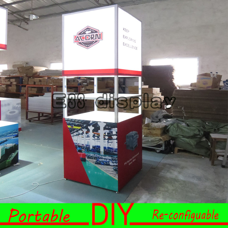 Portable Modular Exhibition Stands : China aluminum portable modular recycle exhibition