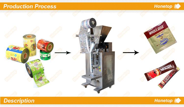 Verical Powder Sachet Packaging Machine