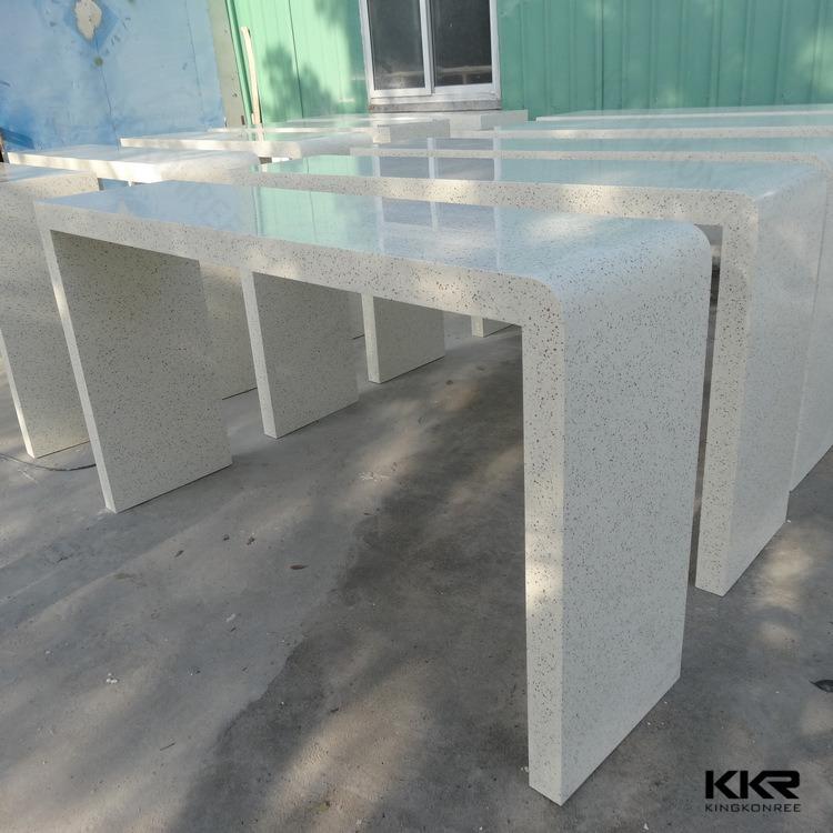 현대 바 가구 백색 단단한 지상 돌 음식 바 테이블 – 현대 바 ...