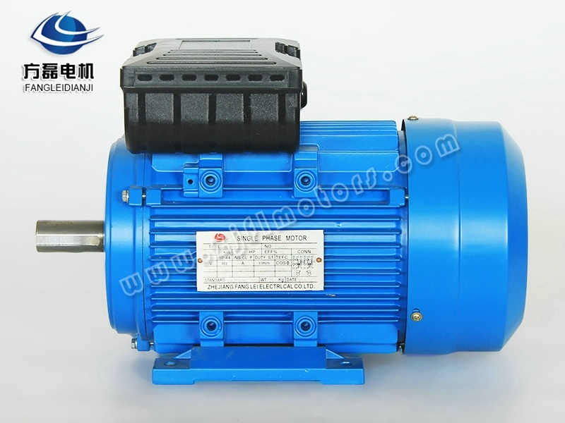 China Ml 0 75kw Two Capacitor Single Phase Electric Motor