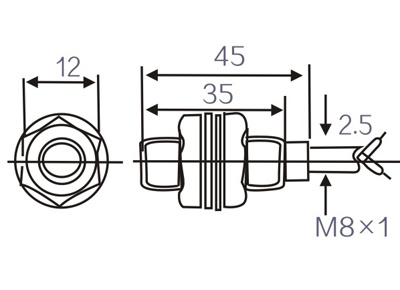 Whirlpool Washing Machine Motor Replacement Parts Diagram besides Index213 together with Wiring A Capacitive Sensor furthermore Temperature Sensor Switch further 4 Wire Proximity Switch. on inductive sensor diagram