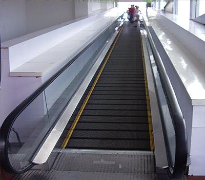 Moving Sidewalk with Good Quality Sum-Elevator