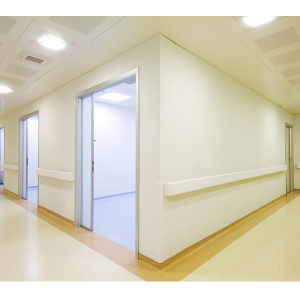 Pvc Wall Handrails : China pvc handrail for hospital wood color