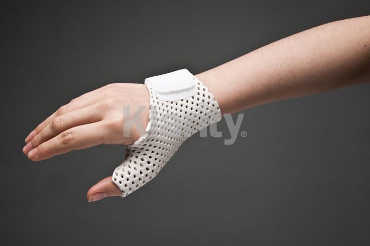 Share Thumb immobilization splint can
