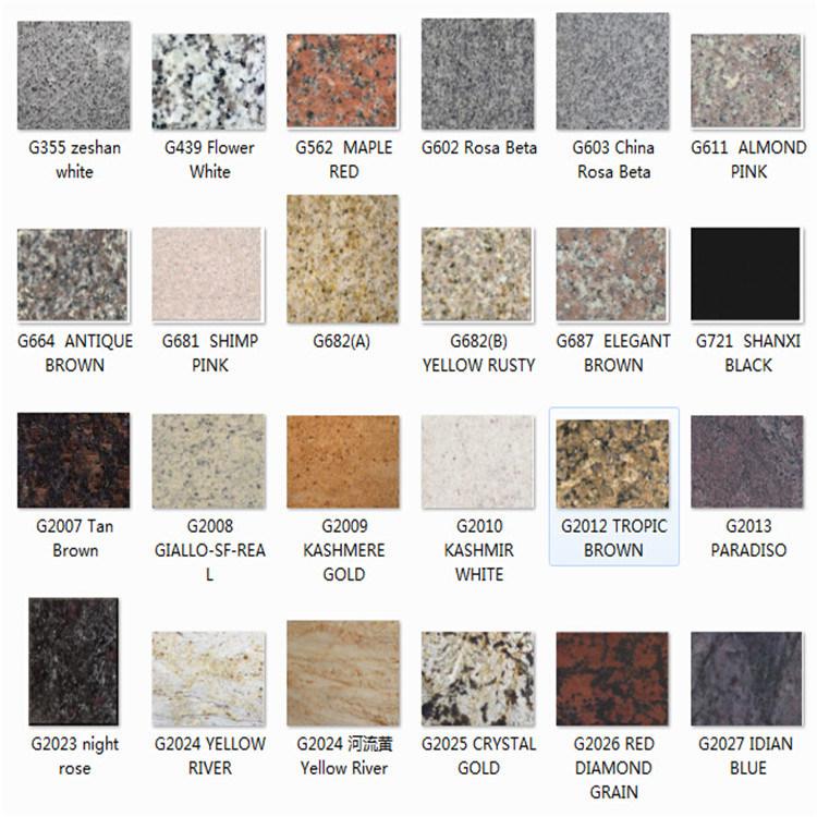 Encimera natural de la cocina de la piedra del granito for Piedra granito para cocina precios