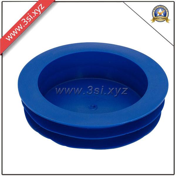 China plastic tube pipe pe threaded end cap