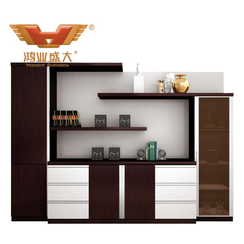 Modern Fashion Design Bookshelf File Cabinet Office Furniture (H80 0664)