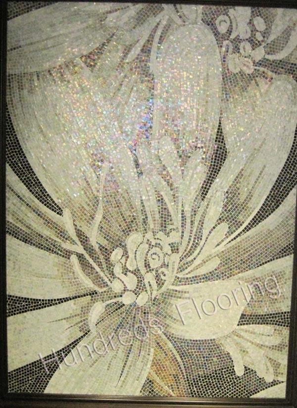 China Background Design Mosaic Glass Art Pattern Mosaic