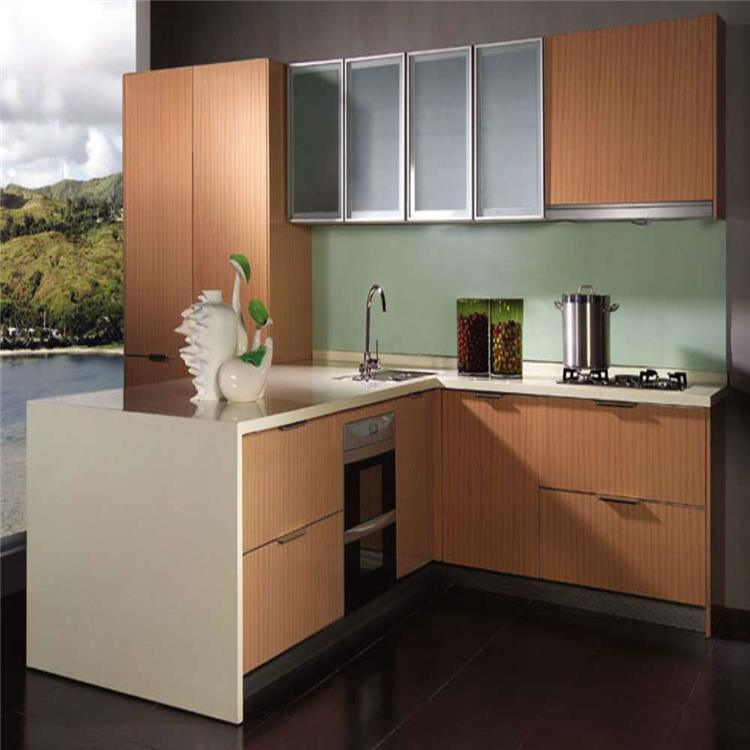 China Simple MDF Kitchen Cabinet