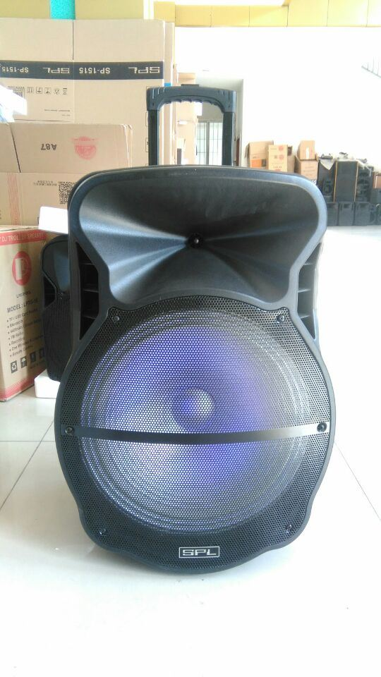 Feiyang/Temeisheng 18 Inch Powerful Bluetooth Speaker with Trolly--Cx-18d