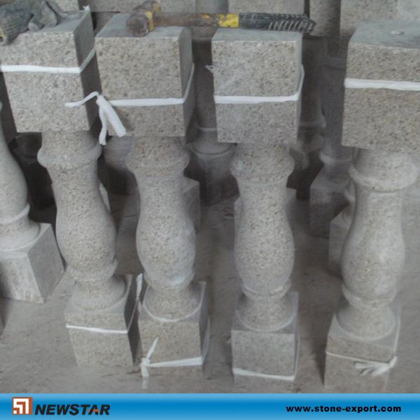 Balaustres de piedra naturales de la escalera del granito - Balaustres de piedra ...