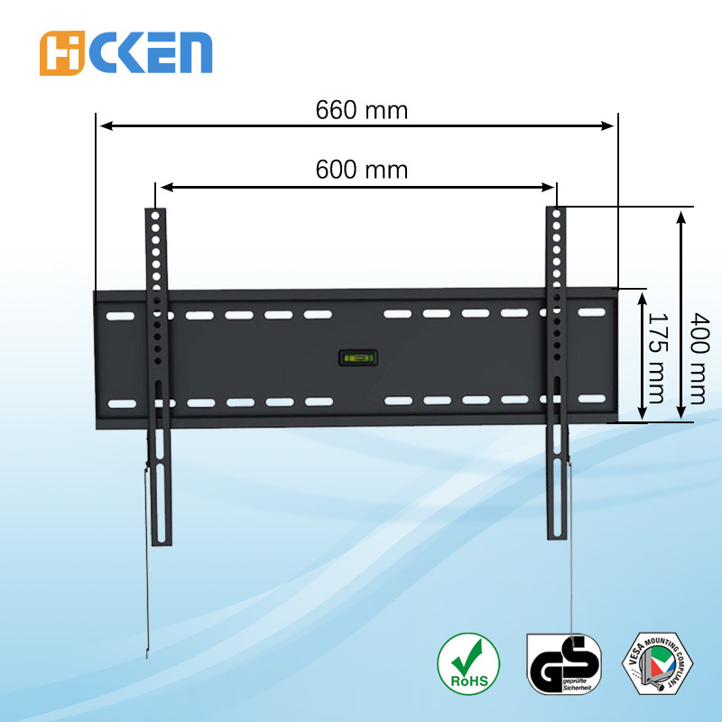 China 2016 Vertically Tv Mount Tv Wall Mount Bracket For