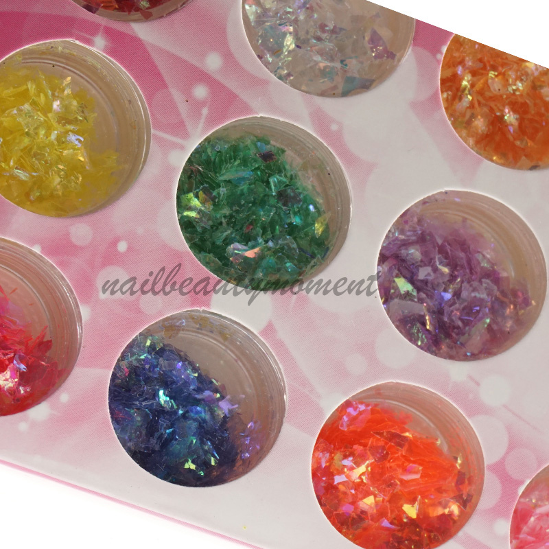 Nail Art Paillette Kits Art Nail Decoration (D58)