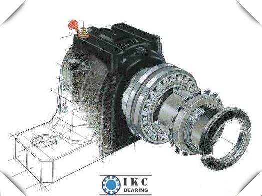 China ikc shaft diameter bore 80mm split plummer block bearing housing