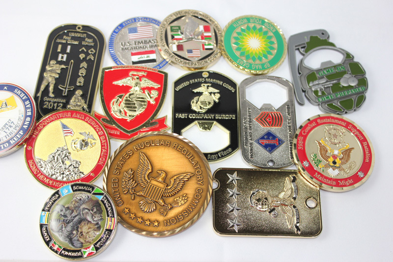 how to make a military challenge coin holder
