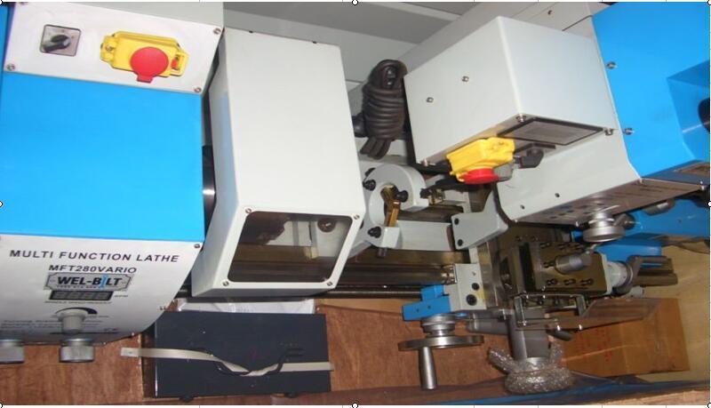 Factory Sale Hq280V 3 in 1 Lathe Combo Bench Lathe Multi Purpose Machine