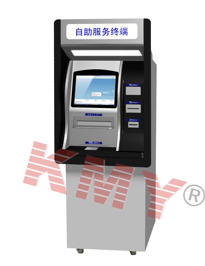 China Outdoor Wall Through Touchscreen Self Payment Atm