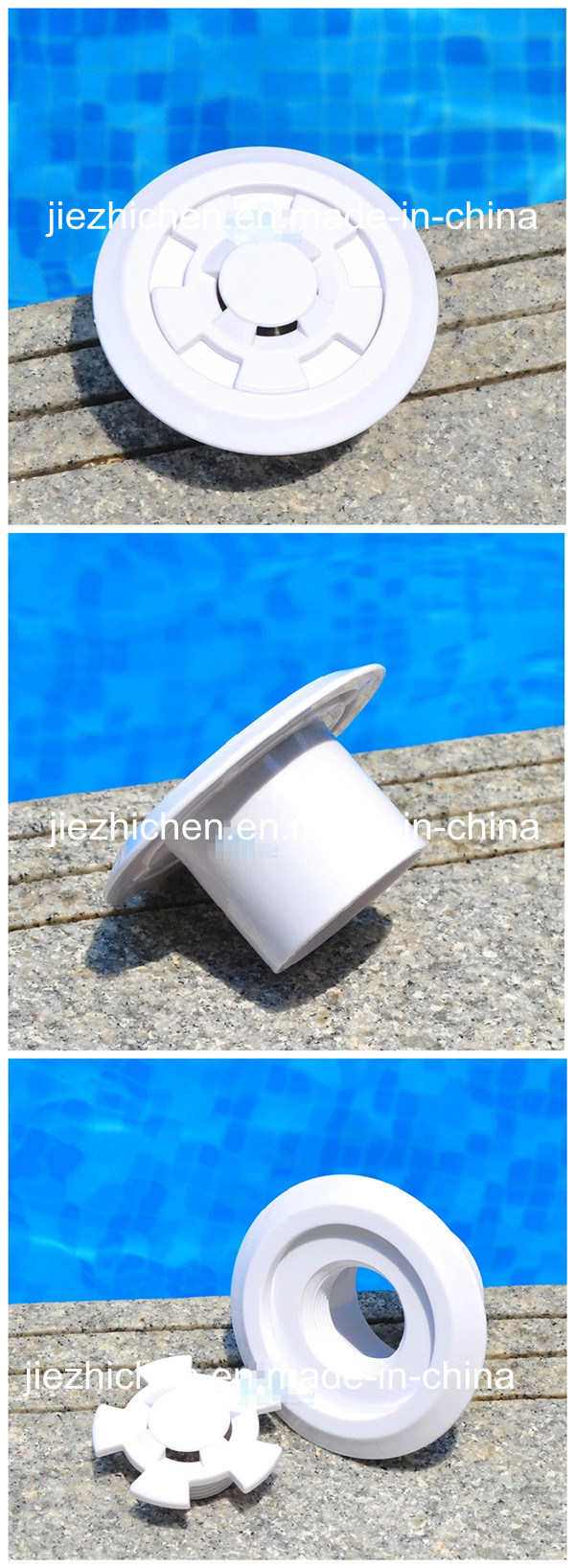 China Swimming Pool Floor Outlet Fitting Pool Water Outlet China Pool Floor Outlet Fitting