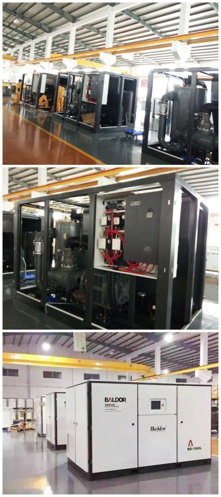 Two-Stage Screw Compressors