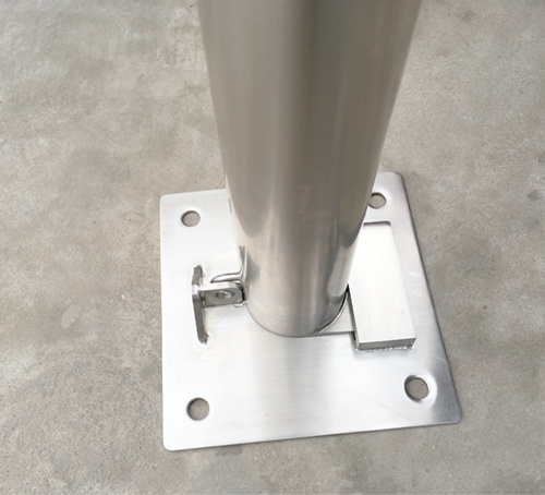 Manual Removable Bollard SS-RB09