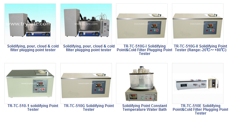 Solidifying Point Constant Temperature Water Bath-Solidifying Point Tester-Oil Testing Instrument