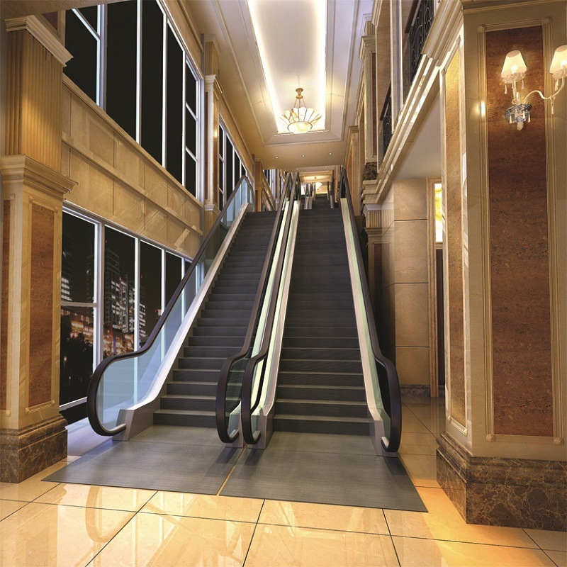 Safety Indoor Escalator Commercial Heavy Duty Vvvf